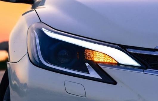 AL 適用: トヨタ レイツ/マークX ヘッドライト 2014-2016 マーク X LED バイキセノン ヘッドランプ DRL ライト 4300K ホワイト イエロー~8000K ホワイト ブルー 35W・55W AL-HH-1311