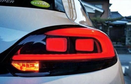 AL 適用: VW フォルクスワーゲン/VOLKSWAGEN シロッコ LED 2014 2015 2016 2017 2018 テール ランプ リア トランク カバー DRL + シグナル ブレーキ リバース AL-HH-1335