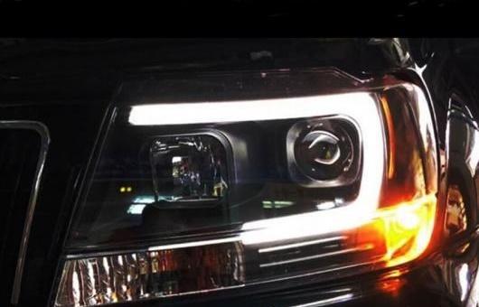 AL ヘッドランプ 適用: ジープ/JEEP グランド チェロキー ヘッドライト 1999-2004 LED DRL HID BI キセノン レンズ 4300K ホワイト イエロー~8000K ホワイト ブルー 35W・55W AL-HH-1344