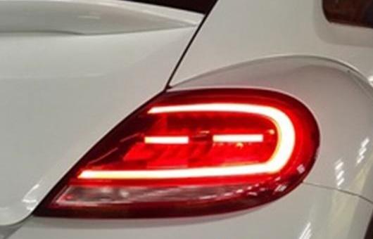 AL 適用: VW フォルクスワーゲン/VOLKSWAGEN ビートル 2013 2014-2018 テール ライト ノース アメリカ デザイン LED リア ランプ DRL + ブレーキ パーク シグナル レッド AL-HH-1358