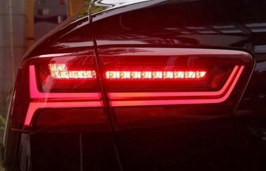 AL 適用: アウディ/AUDI A6L A6 2012-2016 テールライト LED テール ライト リア ランプ 35W レッド AL-HH-1378