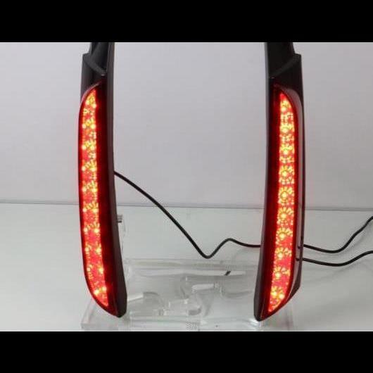 AL 適用: トヨタ フォーチュナ 2015-2018 2019 LED テールライト リア バンパー ライト LED ブレーキ ライト オート バルブ 装飾 ランプ タイプA AL-HH-1443