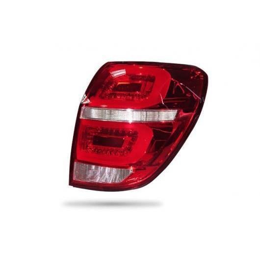 AL LED テールライト テールライト 適用: シボレー/CHEVROLET キャプティバ 2008-2016 リア フォグランプ + ブレーキ ライト + リバース ライト + ターンシグナル ライト レッド AL-HH-1600