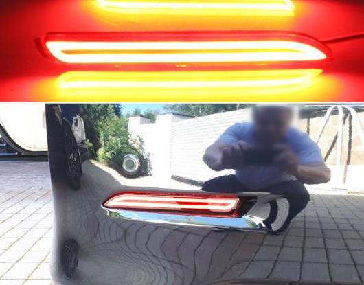 AL 適用: トヨタ アヴァロン 2013-2016 マルチファンクション テールライト LED リア フォグランプ バンパー ライト オート バルブ ブレーキ ライト リフレクター AL-HH-1414