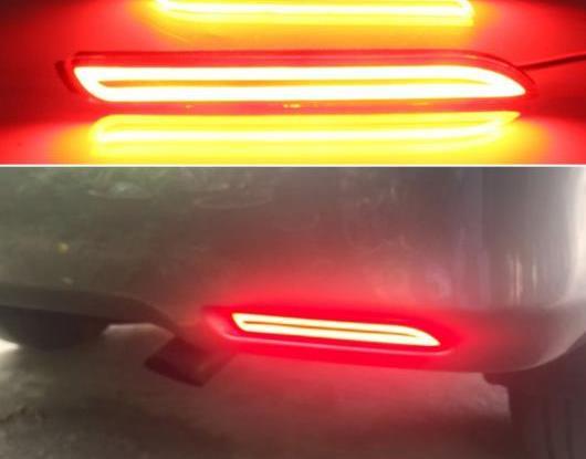 AL 2ピース 適用: トヨタ シエナ 2013-2015 マルチファンクション テールライト LED リア フォグランプ バンパー ライト オート ブレーキ ライト リフレクター AL-HH-1416