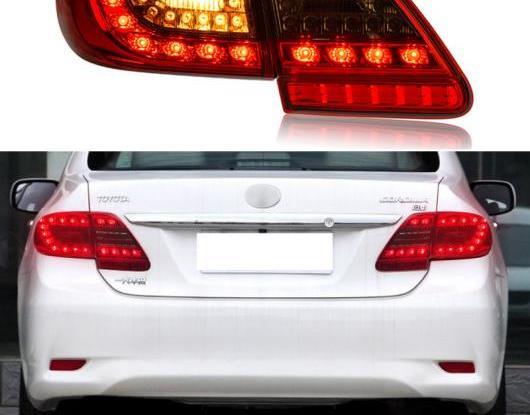 AL LED テールライト テールライト 適用: トヨタ カローラ 2011 2012 2013 リア フォグランプ + ブレーキ ライト + リバース ランプ + ターンシグナル ライト AL-HH-1709