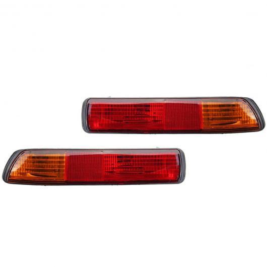 AL ブレーキ ライト テール ライト ストップ ランプ 適用: 三菱 パジェロ V73 V75 モンテロ 2001 2002 2003 リア バンパー フォグ ライト ランプ リフレクター ランプ ペア AL-HH-1936