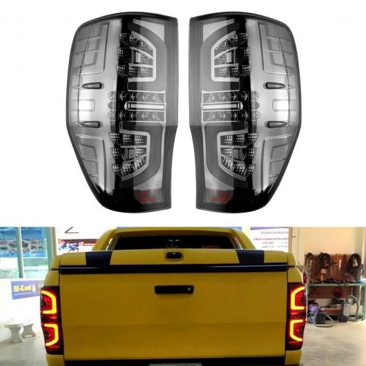AL テール ライト リア ランプ ライト サイド マーカー ライト スモーク LED 適用: フォード/FORD レンジャー PX T6 MK2 XL XLT XLS ワイルドトラック AT ワーニング テール ライト AL-HH-1731