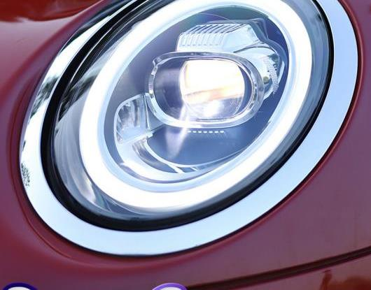 AL LED ヘッドライト 適用: BMW ミニ/MINI(BMW) F55 F56 F57 クーパー カラフル スタート LED DRL ターンシグナルライト ヘッド ランプ アセンブリ AL-HH-1789