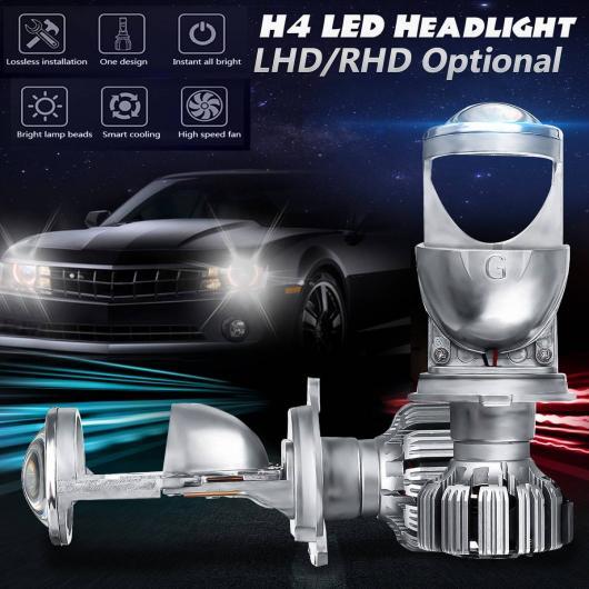 AL 2ピース RHD LHD H4 LED ミニ/MINI(BMW) プロジェクター レンズ 1.5 ヘッドライト レンズ オート 自動車 LED バルブ HI/LO ビーム 12V 24V 右ハンドル 右・左ハンドル 左 AL-HH-1844