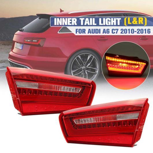 AL リア ライト LED インナー テール ランプ アセンブリ 適用: アウディ/AUDI A6 C7 2010-2016 ブレーキ ライト ワーニング パーキング ストップ ランプ テールライト 左側・右側 AL-HH-1908