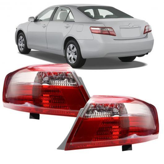 AL ペア テールライト ブレーキ ランプ NO バルブ リア ターン ライト 左/右側 適用: トヨタ カムリ 2007-09 パッセンジャー サイド 右・左 AL-HH-1937
