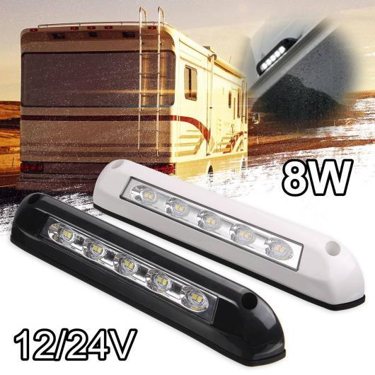 AL 防水 12/24V トラック トレーラー LED テールライト ネオン ランプ LED RV トレーラー ストップ フロー ターンシグナル ブレーキ リア テールライト 適用: RV 8W AL-HH-1975