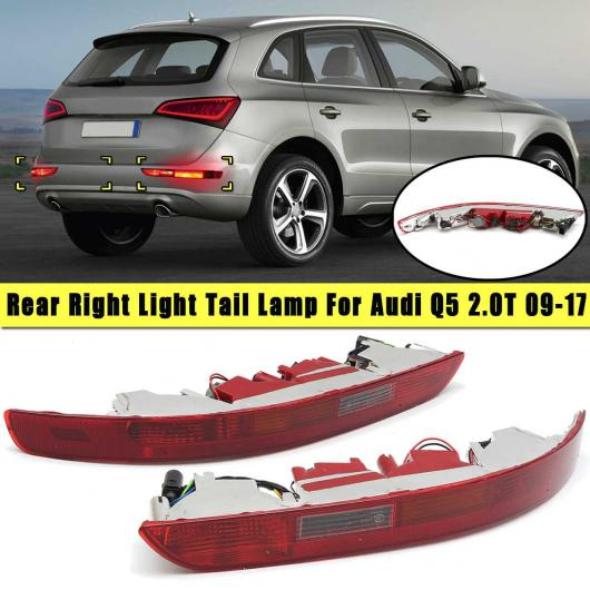 AL 左 右 テールライト リア テール ランプ バンパー カバー ブレーキ パーキング ワーニング ライト 8R0945096 8R0 945 095 B 適用: アウディ/AUDI Q5 2.0T 2009-2017 左 右 AL-HH-2085