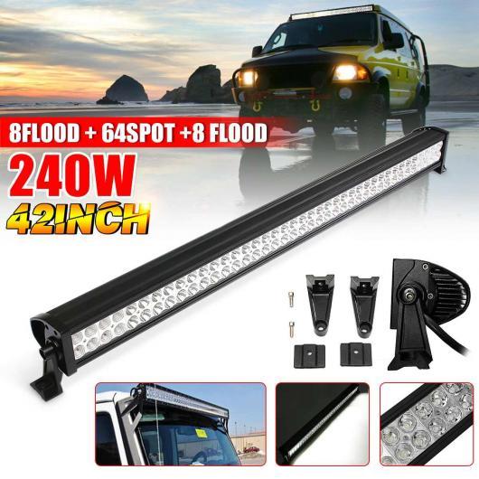 AL 42 240W LED バー ルーフ LED ライト バー ワーク ライト ワーニング ランプ 適用: ジープ/JEEP トラクター ボート オフロード オフ ロード 4WD 4X4 トラック SUV AL-HH-2028