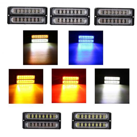 AL デュアル LED サイド ライト テール リバース ターンシグナルライト パーキング ワーニング ランプ 12-24V 適用: トラック トレーラー ボート イエロー ホワイト~レッド AL-HH-2123