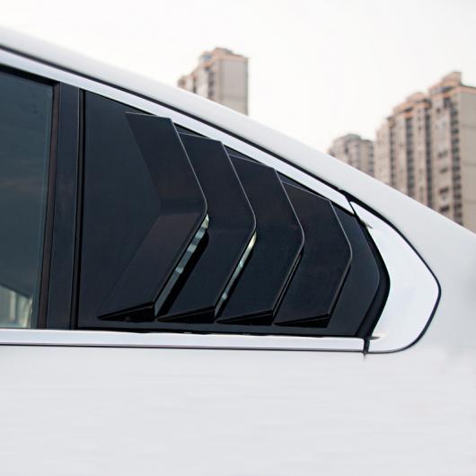 AL 適用: BMW 320 325 3シリーズ ウインドウ エア 吹き出し口 装飾 ステッカー クローム カーボンファイバー G20 カーボンファイバー 2ピース・ピアノ ブラック 2ピース AL-II-0133