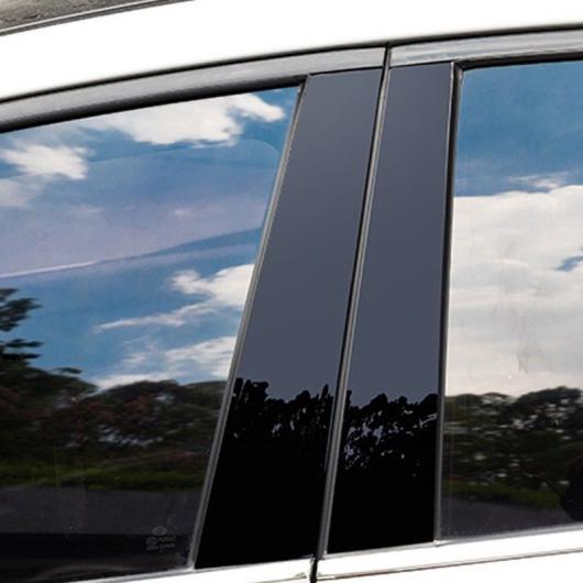 ツーソン トリム ブラック AL-II-0161 適用: C クロム スタイリング 2016-2018 ブラック エクステリア パーツ ヒュンダイ/現代/HYUNDAI ピラー プレート AL ミラー B ドア モールディング