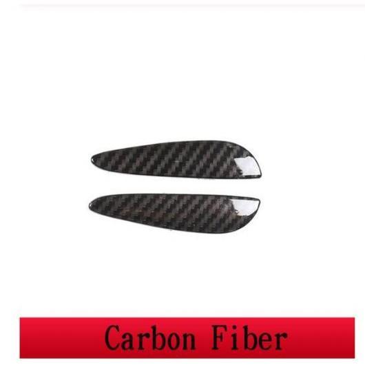 AL 2ピース ABS セントラル コントロール ハンドル カバー 適用: メルセデスベンツ/MERCEDES BENZ GLE GLS 2020 コンソール ギア シフト ハンドル カーボンファイバー ABS AL-II-0346