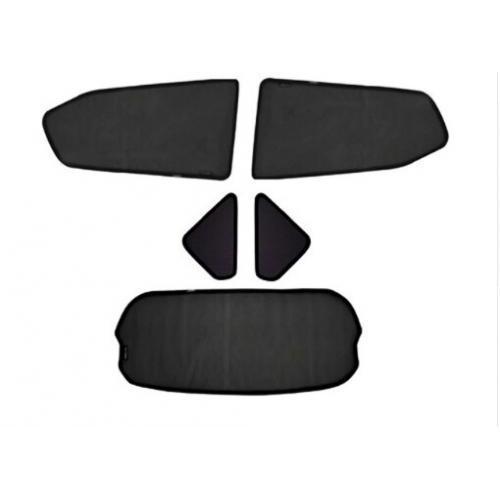 AL ウインドウ サンシェード メッシュ シェード ブラインド カスタム 適用: ホンダ フリード ジャズ/フィット ストリーム スピリア HRV XRV 5ピース セット AL-II-0789