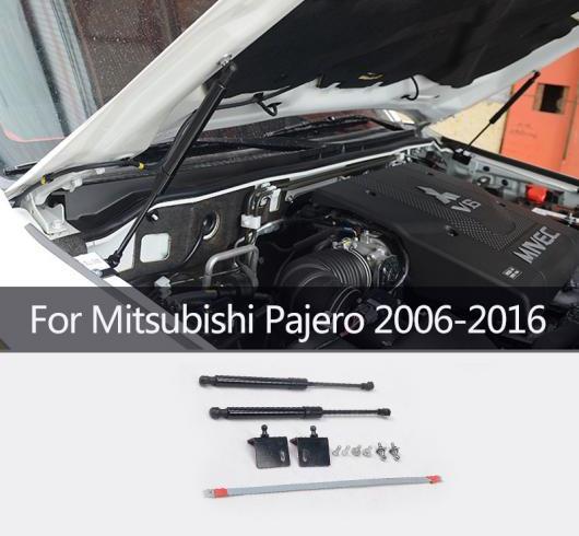 AL 適用: 2006-2016 三菱 パジェロ フロント フード エンジン サポート 油圧式 ロッド リフト ストラット スプリング ショック バー ブラケット AL-II-0766