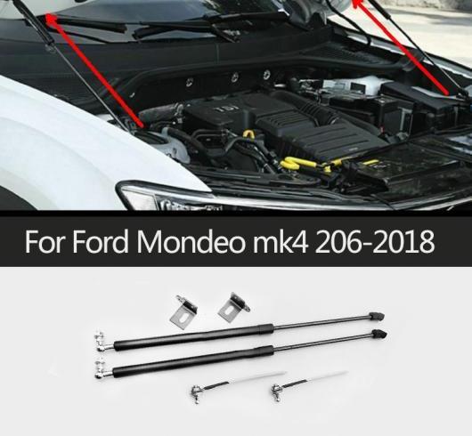 AL 適用: フォード/FORD モンデオ MK4 2006-2018 フード エンジン カバー 油圧式 ロッド ストラット スプリング リフト サポート ショック ブラケット バー AL-II-0775