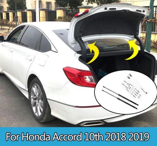 AL バック ドア トランク ボックス サポート 油圧式 ロッド ストラット スプリング バー ショック ブラケット 2ピース 適用: ホンダ アコード 10世代 2018 2019 AL-II-0777