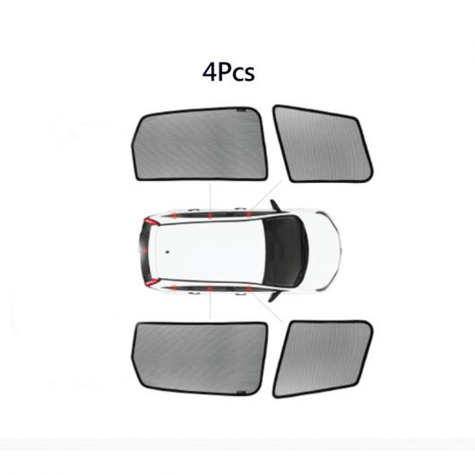 AL ウインドウ サンシェード メッシュ シェード ブラインド カスタム 適用: トヨタ RAV4 プリウス BB NCP20/21 4 ウインドウ サンシェード AL-II-0818