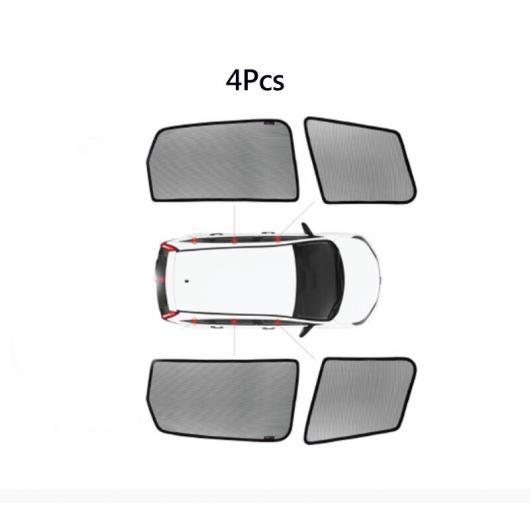 AL ウインドウ サンシェード メッシュ シェード ブラインド カスタム 適用: トヨタ ランドクルーザー-4500 GX400/460 シエナ 4 ウインドウ サンシェード AL-II-0822