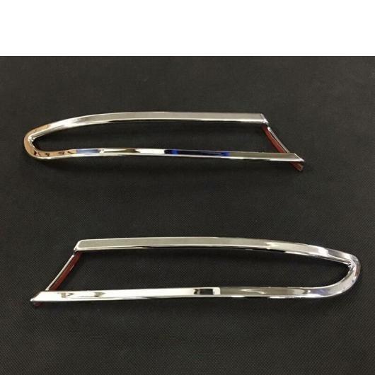 装飾 BMW フレーム ランプ 適用: トリム リア カバー シルバー X3 パネル AL G01 エクステリア フォグライト クローム ステッカー AL-II-1040 トランク