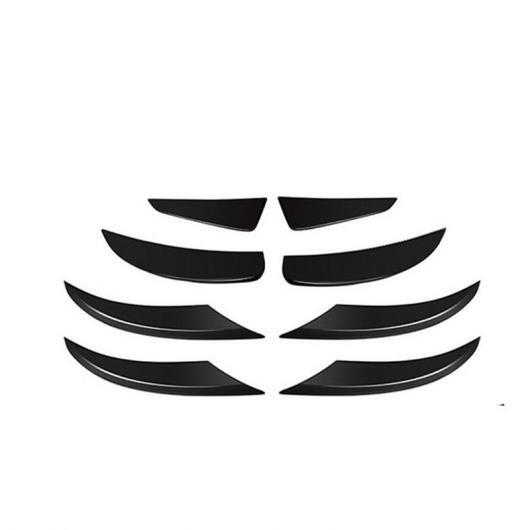 クラス AL-II-1044 A アクセサリー フォグランプ ブラック 適用: オート AL グリル カバー ベンツ W177 カーボンファイバー メルセデス ヘッド ライト スラット ステッカー トリム