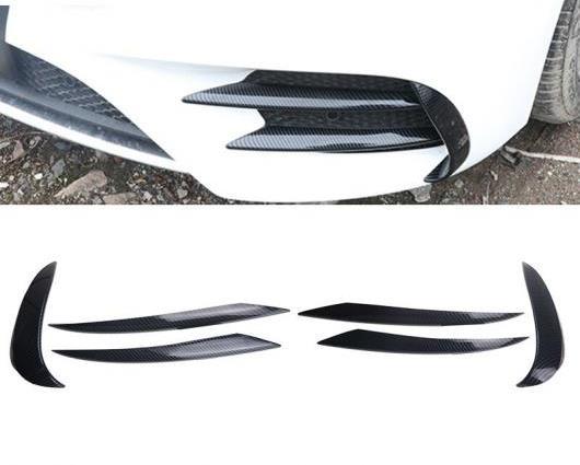 AL 適用: メルセデス ベンツ E クラス E43 E63 適用: AMG ヘッド フォグランプ グリル スラット オート ライト カバー ステッカー B ブラック E63・B カーボンファイバー E63 AL-II-1005