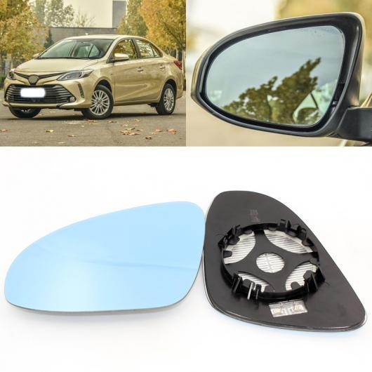 物品 ランキングTOP5 送料無料 AL 適用: トヨタ ヴィオス 2002-2017 サイド ビュー ドア ペア ベース ブルー ミラー AL-II-1489 ヒーテッド ガラス 1