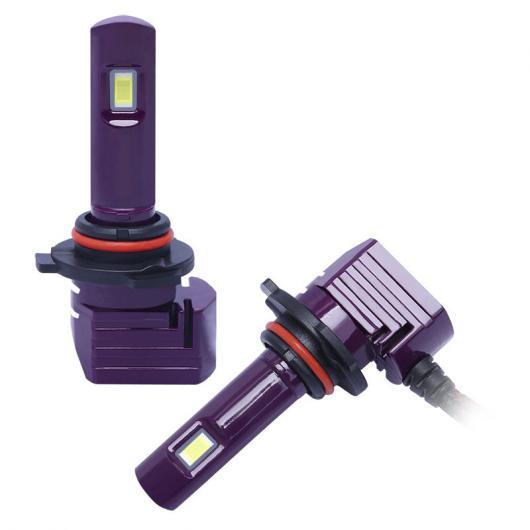 AL ヘッドライト LED フォグライト ハイライト 9005 9006 H7 H11 バルブ バレット スーパー ブライト ターボ ライト LED ランプ レッド 9006~レッド 9005 AL-II-1606