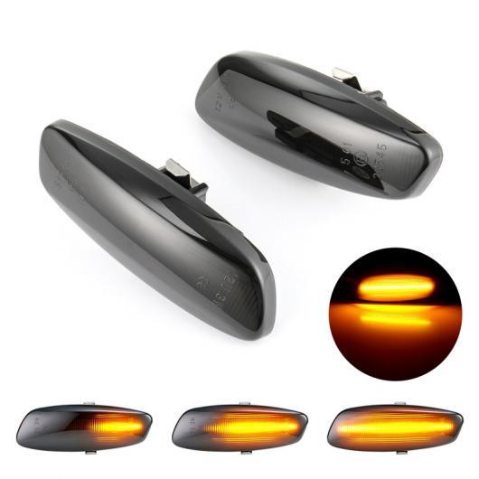 AL 2ピース LED ダイナミック サイド マーカー ウインカー シーケンシャル 適用: プジョー/PEUGEOT 308 207 3008 5008 シトロエン/CITROEN C4 C3 C5 DS3 DS4 シーケンシャル AL-II-1989