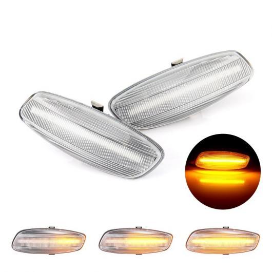 AL LED ダイナミック サイド マーカー ライト ウインカー シーケンシャル 適用: プジョー/PEUGEOT 308 207 3008 5008 シトロエン/CITROEN C4 C3 C5 シーケンシャル AL-II-1990