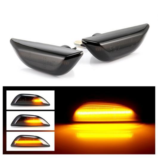 AL 適用: オペル/OPEL モッカ X シボレー/CHEVROLET トラック LED ダイナミック サイド マーカー ライト シーケンシャル ウインカー ランプ AL-II-1994