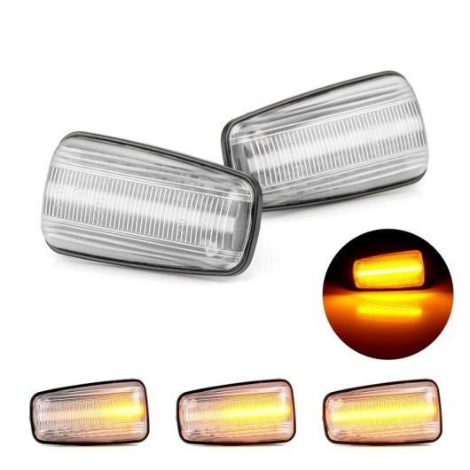 AL LED ダイナミック サイド マーカー ライト 適用: プジョー/PEUGEOT 306 106 406 806 エキスパート パートナー シトロエン/CITROEN ベルランゴ スモーク シェル・クリア シェル AL-II-2002