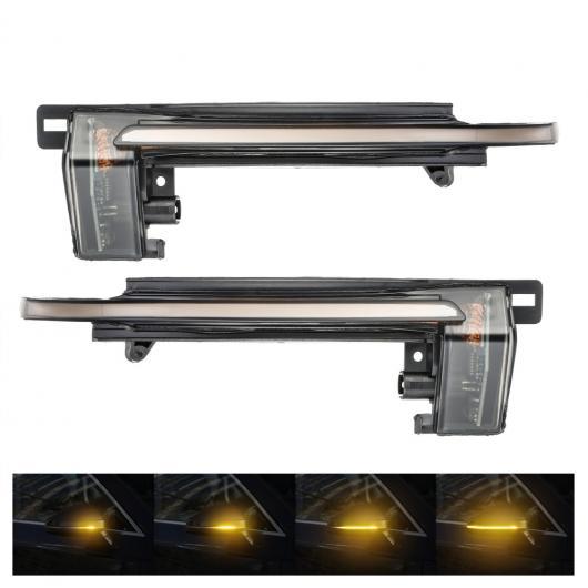 AL 2ピース シーケンシャル LED バックミラー ミラー インジケーター ウインカー ライト ダイナミック 適用: アウディ/AUDI A4 A5 B8 A3 8P Q3 A6 C6 4F S6 SQ3 AL-II-2130