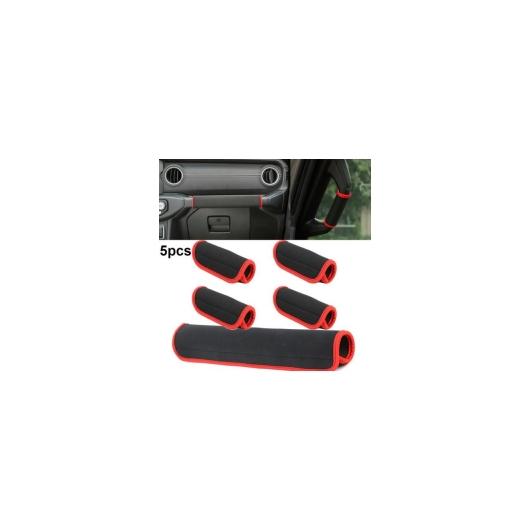 AL 5ピース ロール バー グリップ ハンドル 保護 カバー 適用: ジープ/JEEP ラングラー JL AL-II-2962