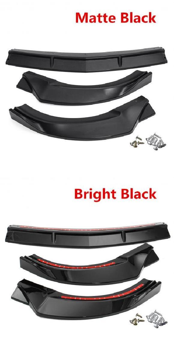 AL 3ピース W213 フロント リップ チン バンパー ボディ キット ガード 適用: メルセデス ベンツ E クラス E200 E300 E320 17 18 スポーツ バージョン マットブラック・ブライトブラック AL-II-3225