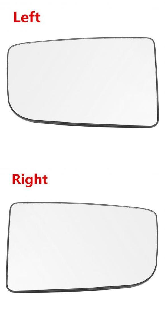 AL サイド ドア ウイング バックミラー ミラー アッパー ラージ ガラス 眼鏡 レンズ プッシュ ON 適用: メルセデス ベンツ スプリンター バン 左・右 AL-II-3996