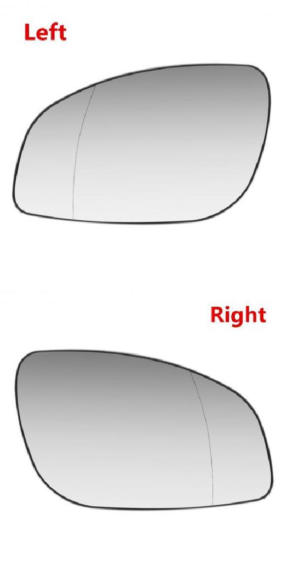 AL サイド ヒーテッド ウイング ドア リア ビュー ミラー ガラス 適用: ボクスホール/VAUXHALL ベクトラ C 2003 2008 右ハンドル 左・右 AL-II-4193