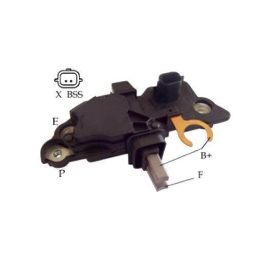 【NEW限定品】 AL オルタネーター 電圧 レギュレーター 適用: B321 04-116 10ピース AL-JJ-1900, 織田町 11ee6247