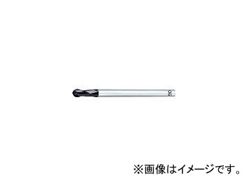 オーエスジー/OSG 超硬エンドミル FX2刃ロングシャンクボール R6 FXLSMGEBDR6(2007312)