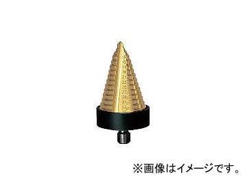 トラスコ中山/TRUSCO ステップドリル 2枚刃チタンコーティング 5~35mm 段数13 NMS35G(1384554) JAN:4989999557237