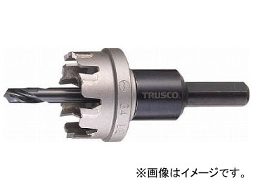 トラスコ中山/TRUSCO 超硬ステンレスホールカッター 80mm TTG80(3522326) JAN:4989999820140