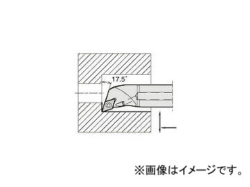 京セラ/KYOCERA 内径加工用ホルダ A12MSDQCR0716AE(6459960) JAN:4960664584512
