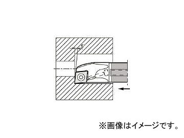 京セラ/KYOCERA 内径加工用ホルダ E12QSCLCR0614A23(6477518) JAN:4960664592128