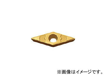 京セラ/KYOCERA 旋削用チップ PVDサーメット VBMT160408GP PV90(1539671) JAN:4960664133383 入数:10個